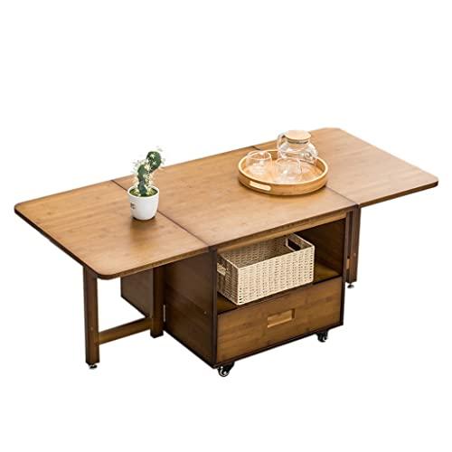 Coffee Table Enkel Folding Tea Side Table Cocktail Table, Används I Sovrum Vardagsrum Sofa Mobil Side Table Tea Table Coffee Side Table
