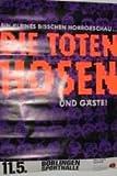Die Toten Hosen, 60 x 90 cm// Poster Poster