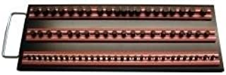 """Vim Products MRTRAY14R Magrails Socket Tray, with 3-14"""" Magrails, Red"""