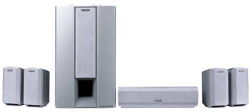 Sony SA-VE345 Surround-Lautsprechersystem Silber