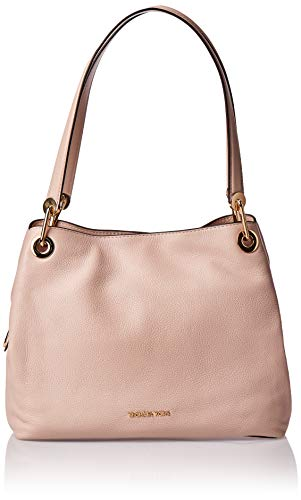 Michael Kors Womens Raven Shoulder Bag Pink (Soft Pink)