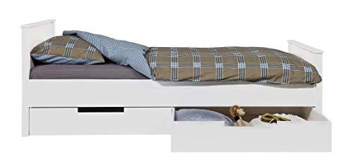 Nordic Factory Lit Enfant Jan + tiroirs de Rangement