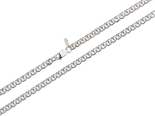 Kinderkette Garibaldi Silberkette Breite 3,6mm 925 Silber Länge wählbar von 32cm-37cm