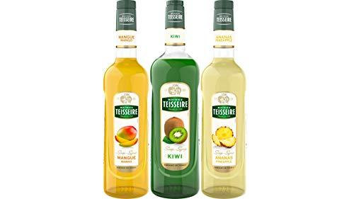 Teisseire Sirup Set Exotisch: Sirup Mango + Kiwi + Ananas - 2 x 700ml + 1 x 1L