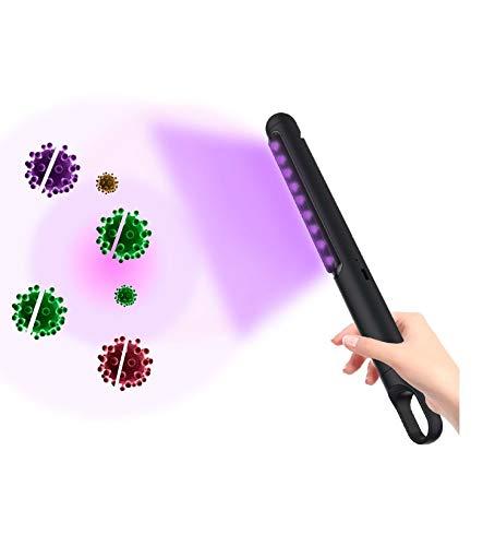 Lámpara Portátil Luz Led Ultravioleta Tipo UVC Desinfección Esterilización Virus Gripe A...