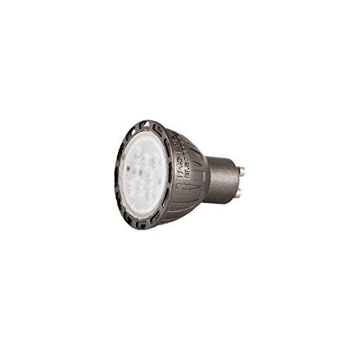 Silver Electronics dichroic LED réglable GU10, 7 W, Argent