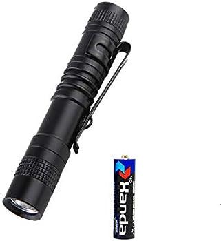 Qweert Handheld Mini Pen Light,Tail Switch Tactical Pocket Flashlights