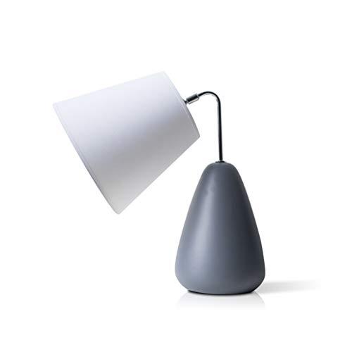 Lampada da Tavolo Moderna Tavolo Nordic camera da letto della lampada lampada da comodino soggiorno oscuramento lampada da tavolo in ceramica casa Tavolo base della lampada 16.9' H Lampada da Scrivani