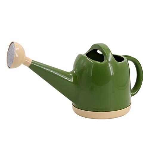 Kangmeile Regadera para jardín, riego de plástico al aire libre, maceta de riego con boquilla larga y ligera