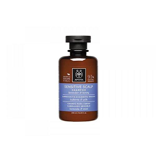 Apivita - Champú cuero cabelludo sensible lavanda & miel