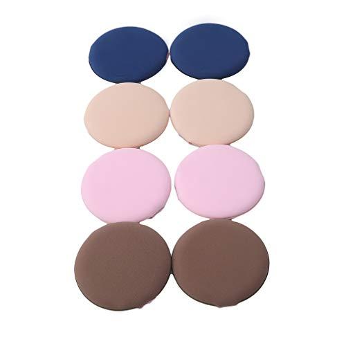 Faliya 8PC Multifonctionnel Maquillage Éponge En Poudre Puff Cosmétique Beauté Outil Mélange Éponge pour Crème Liquide et Poudre