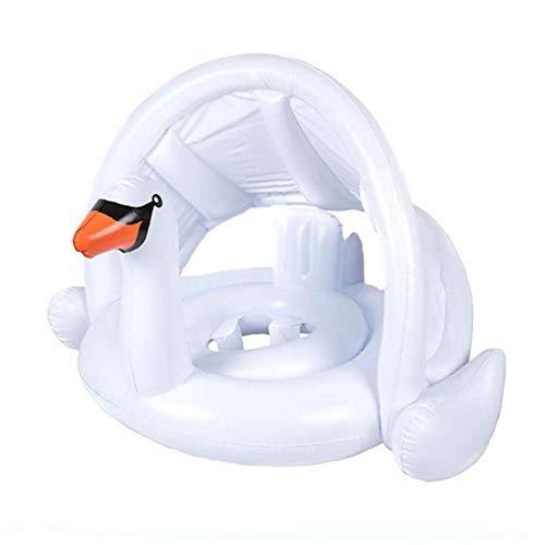 1PC bebé Piscina del Flotador del Asiento del Asiento Inflable White Swan Swim Anillo con Seguridad la Playa del Verano al Aire Libre Baño de Agua Juguetes Flotador de la Piscina Asiento para bebés