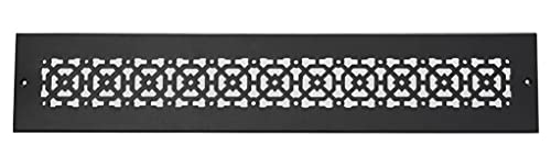"""Achteck 3""""x 24"""" Duct opening Solid Cast Aluminum Air Return Grill Vent Cover 