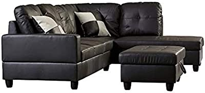 Cool Amazon Com Zella Sectional Left Arm Facing Chaise Kitchen Gmtry Best Dining Table And Chair Ideas Images Gmtryco