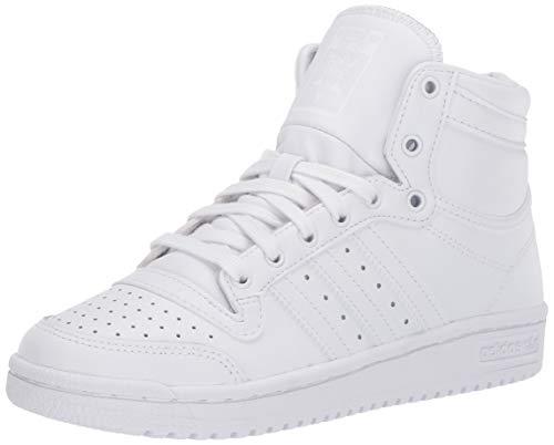 adidas Originals Men's Super Star Sneaker, White/White/White, 10
