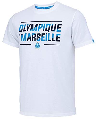 OLYMPIQUE DE MARSEILLE T-Shirt Om - Collection Officielle Taille Homme S
