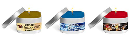 Pirates Life™ Series - Disney Parks Scented Candle - 8 oz 100% Soy Wax Candles