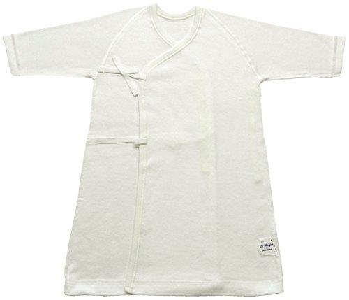 村信 ラ・モルフェ加工 スムース(厚手) 長肌着 50cm ~ 60cm 白 NL20028 日本製