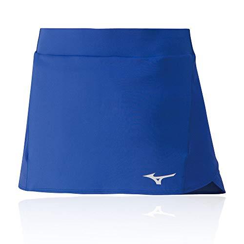 Mizuno Flex Skort Falda, Mujer, Dazzling Blue, L