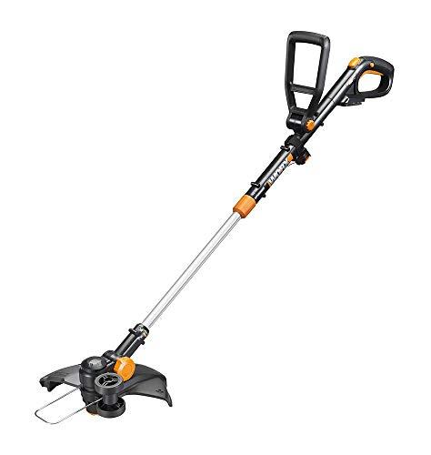 WORX WG170 GT Revolution 20V 12' Grass Trimmer/Edger/Mini-Mower 2 Batteries & Charger Included, Black and Orange (Renewed)