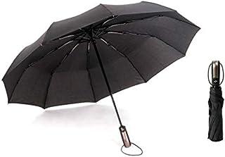 XUXIE Large Umbrella Oversize Golf Umbrella Windproof Big Umbrella Travel Automatic Open Close Umbrellas Strong 10 Ribs Li...