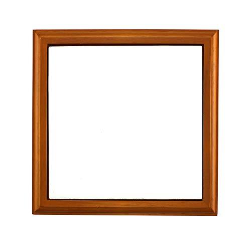 "Wood Frame Trivet with Sublimation Blank Ceramic 6"" x 6"" Tile Cherry Finish"