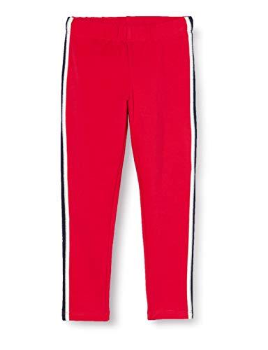 Salt & Pepper Mädchen 05115245 Leggings, Cherry red, 110