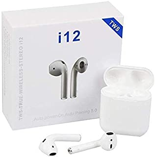 Demaco i12 TWS with Charging Case Wireless White