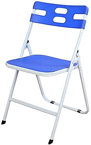 Moderner Schreibtischstuhl-Klappstuhl Büroschreibtisch-Stuhl-Mitarbeiter Blaue Plastik-gepolsterte Student Training Bürostuhl