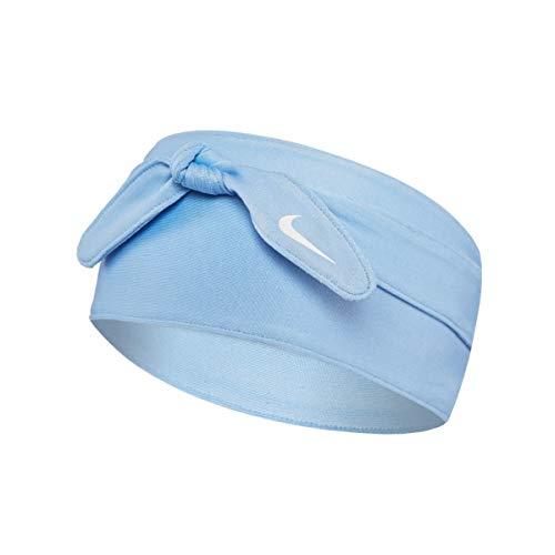Nike Bandana Head Tie Hoofdband, uniseks, volwassenen, geestelijk blauw/wit, één maat