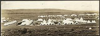 HistoricalFindings Photo: Sarcee Camp, Irish Guards (219 Battalion) Edmonton, 1916