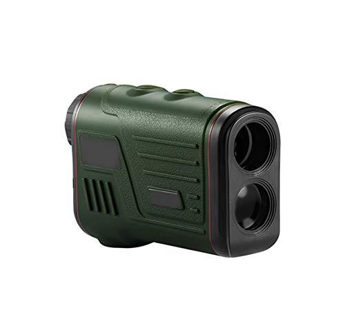 Laser Range Finder jagen Golf, Lens Verstelbare Afstandmeting Rangefinder Telescope Digital Measure Boogschieten horloge Schieten Verrekijkers, Black