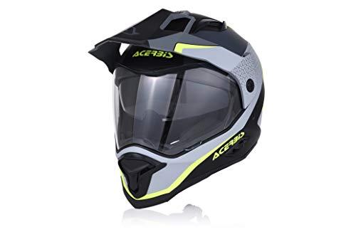 Acerbis Reactive Graffix Helm schwarz/grau M