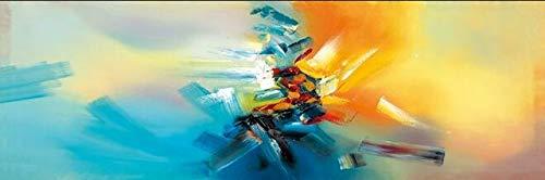 Wjwiang decoraties voor het huis, schilderij op canvas, druk op canvas, posters en graveren, moderne kunst van de muur, graffiti Art Decor voor de slaapkamer 20x60cm unframed Een