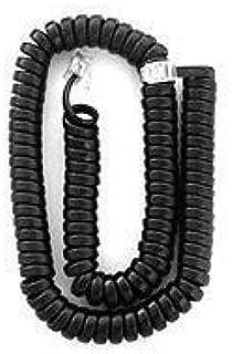 Polycom SoundPoint 12 ft. Black Handset Cord For IP 301, 501, 601, 670, 321, 331, 335, 450, 550, 560, 650 Phones