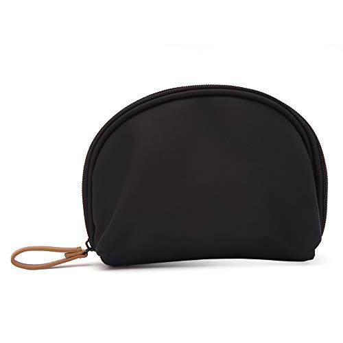 Sac à cosmétiques portable, Sac de voyage à cosmétiques Sac à cosmétiques semi-circulaire Sac de rangement portable-Grand