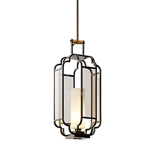 Lampen hanglamp plafondlamp hanglamp plafondverlichting ijzeren kroonluchter Chinese klassieke lantaarnlamp-restaurantglassmeedijzer-estaurant