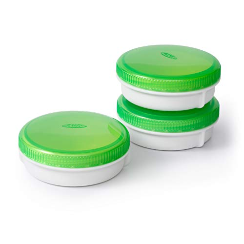 OXO Good Grips On-The-Go 3-Piece Condiment Keeper Set, 2oz