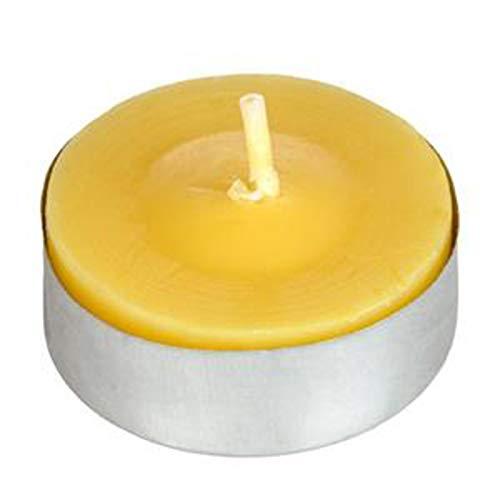 Aurora Store.it 50 Pezzi Citronella profumata Luce lumini Tealight Salva Aroma Lemongrass profumata Anti zanzare, Candele Outdoor Esterno, Candele pro