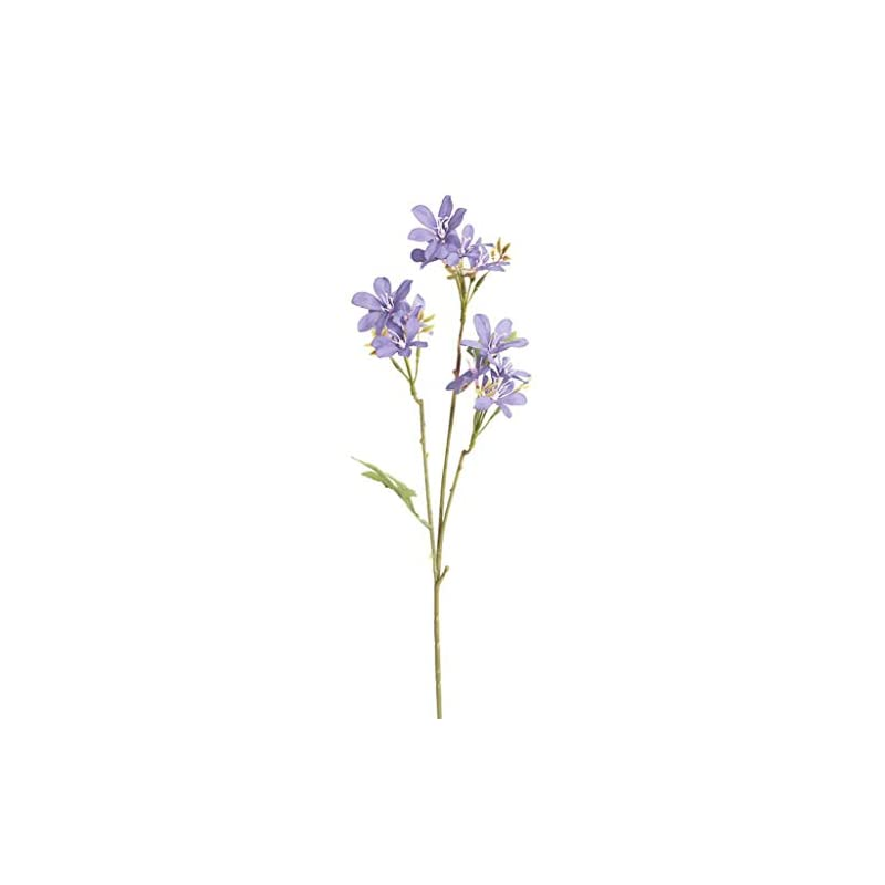 silk flower arrangements dserw artificial flower,1pc artificial flower freesia garden diy stage party home wedding craft decor - blue