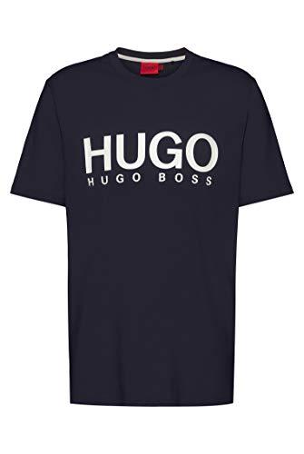 HUGO Dolive212 10229761 01 Camiseta, Dark Blue 405, XL para Hombre