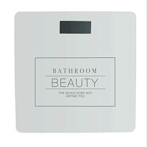 Vidal Regalos Bascula Digital Baño Essential Blanca 28 cm
