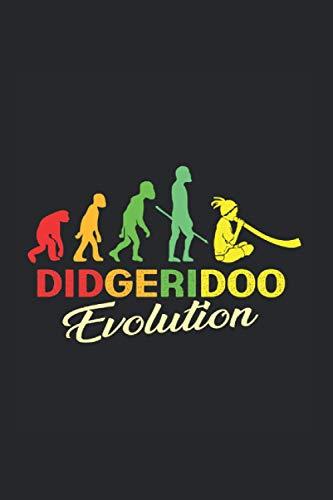 Didgeridoo Evolution Notebook: Didgeridoo Notebooks For Work Didgeridoo Notebooks College Ruled Journals Cute Didgeridoo Note Pads For Students Funny Didgeridoo Gifts Wide Ruled Lined