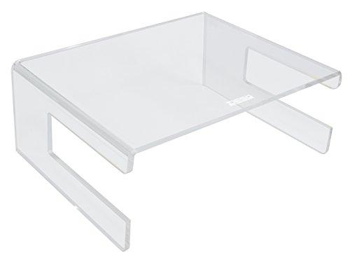 Desq 1537 Monitorständer aus hochwertigen Acryl, transparent
