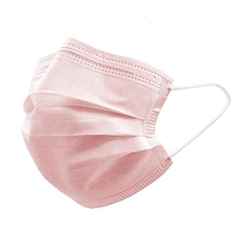 iCOOLIO op Masken, medizinischer mundschutz, medizinisch Maske, medizinische Masken, einwegmasken, Mund nasen schutzmaske, schutzmasken, Gesichtsmaske einweg, einmalmasken 50 Stück Rosa