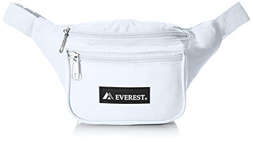 Everest Riñonera estándar, Color Blanco, tamaño Talla única