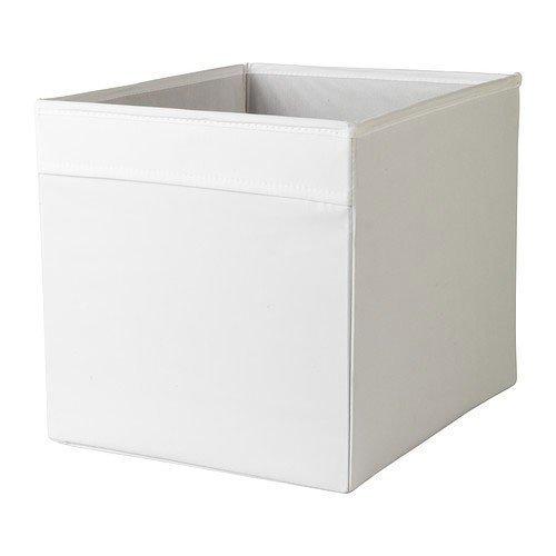 IKEA Kiste, Stoff, weiß, 33 x 38 x 33 cm