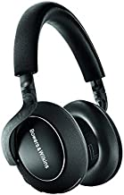 Bowers & Wilkins PX7 Over Ear Wireless Bluetooth Headphone, Adaptive Noise Cancelling - Carbon Edition