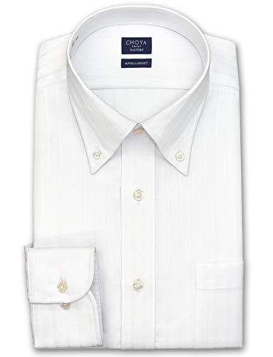 [チョーヤ]形態安定加工ワイシャツ ボタンダウン メンズ CFD131-200 [200-3982]