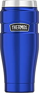 Thermos Stainless King 16 Ounce Travel Tumbler, Electric Blue